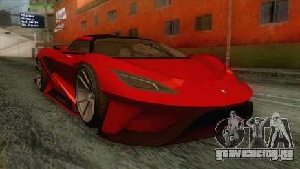 GTA 5 - Overflod Tyrant IVF для GTA San Andreas