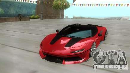Ferrari J50 2017 для GTA San Andreas