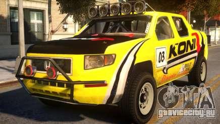 Honda Ridgeline Koni для GTA 4