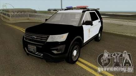 Ford Police Interceptor Utility LSPD 2016 для GTA San Andreas