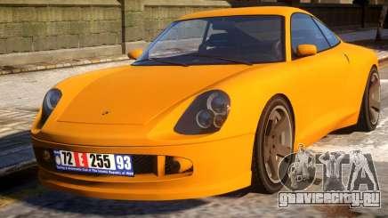 Porsche 911 (Comet) Supports RIV для GTA 4