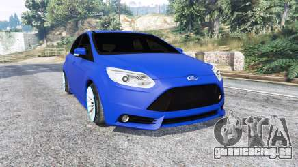 Ford Focus ST (C346) 2013 v1.1 [replace] для GTA 5