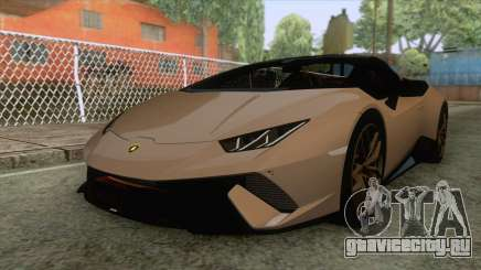 Lamborghini Huracan Performante Spyder для GTA San Andreas