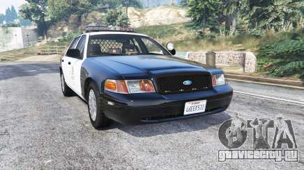 Ford Crown Victoria LAPD CVPI v3.0 [replace] для GTA 5