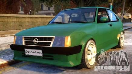 Opel Kadett D GTE для GTA 4