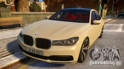 2016 BMW 7-series G12 Long для GTA 4