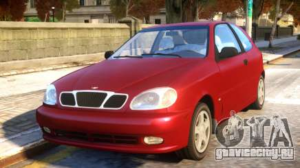 Daewoo Lanos 3-door SX US 1999 для GTA 4