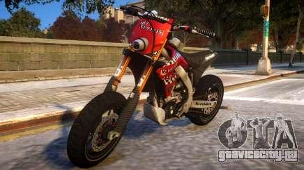 Kawasaki KX 450 F для GTA 4