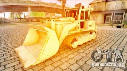 HVY Bulldozer GTA V Next Gen IVF для GTA San Andreas