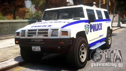 Police Patriot v1 для GTA 4