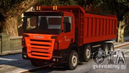 Scania Dumper P420 для GTA 4