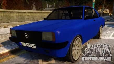 Opel Ascona для GTA 4