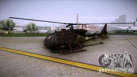 SA.341 GAZELLE Wargame: Red Dragon для GTA San Andreas