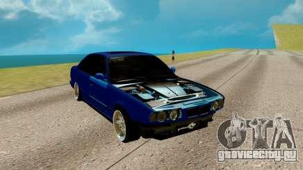 BMW M5 E34 синий для GTA San Andreas