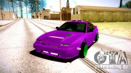 Nissan 240SX цвета фуксии для GTA San Andreas