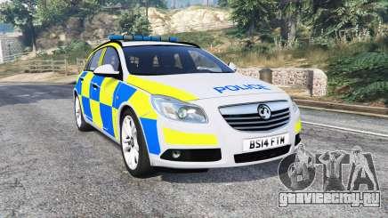 Vauxhall Insignia Tourer Police v1.1 [replace] для GTA 5