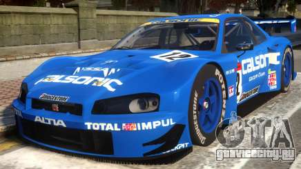 2003 Nissan Skyline JGTC для GTA 4