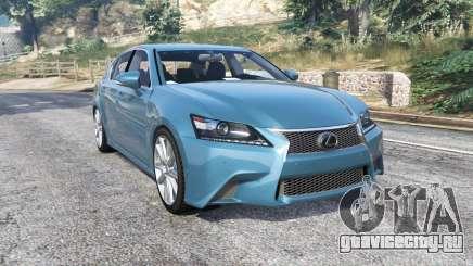 Lexus GS 350 F-Sport 2013 v1.1 [replace] для GTA 5