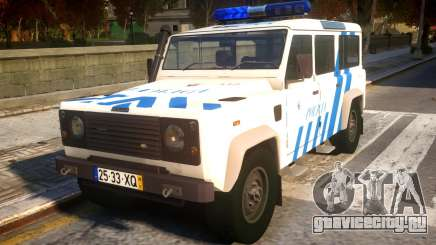 Land Rover Defender Police V2 для GTA 4