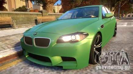 BMW M5-series F10 Azerbaijan style для GTA 4