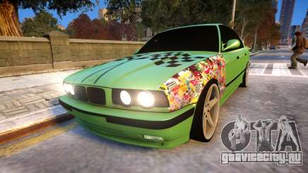 BMW M5 E34 Monster vs Turbo Style для GTA 4