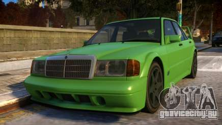 Mercedes-Benz 190E Evolution II для GTA 4