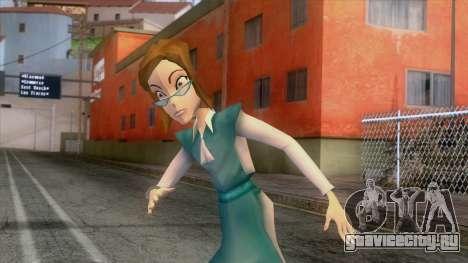 Winx Butterflix Adventures - Griselda Skin для GTA San Andreas