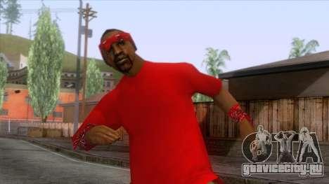 Crips & Bloods Ballas Skin 8 для GTA San Andreas