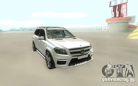 Mercedes-Benz GL63 Hard для GTA San Andreas