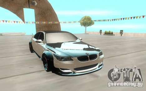 BMW M5 E60 Black and White для GTA San Andreas