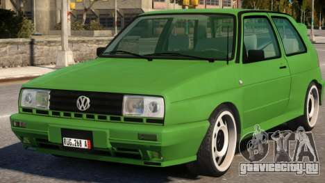 Volkswagen Golf Rallye G60 1990 для GTA 4