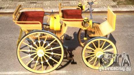 Daimler Benz 1886 V.2.2 для GTA 4 вид сзади
