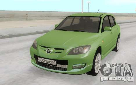 Mazda 3 Stock для GTA San Andreas