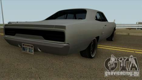 Plymouth Road Runner Fast and Furious 7 1970 для GTA San Andreas