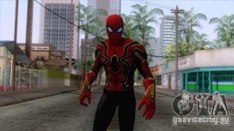 Marvel Future Fight - Iron Spider Skin 1 для GTA San Andreas
