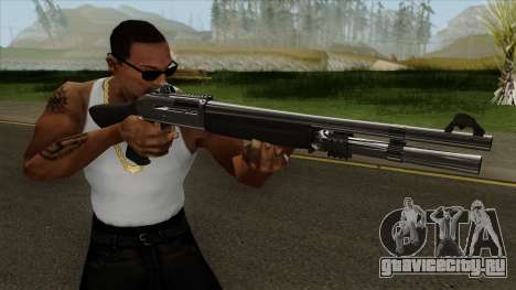 Shotgun Grey Chrome для GTA San Andreas