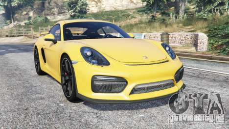Porsche Cayman GT4 (981C) 2016 v1.1 [replace] для GTA 5