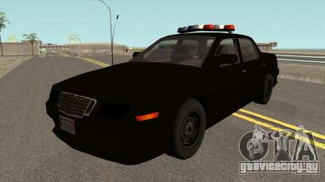 Машина Полиции 2-го Уровня Розыска из NFS MW v2 для GTA San Andreas
