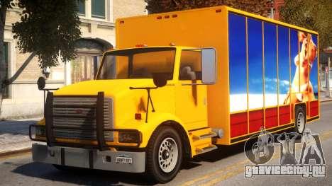 GTA IV LKW Mod Benson для GTA 4