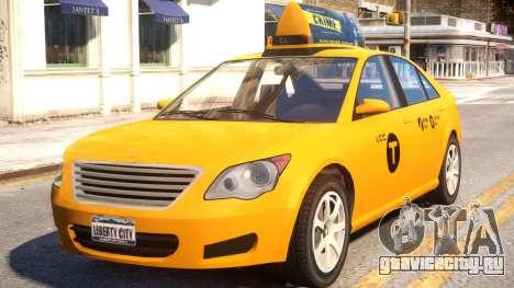 Karin Asterope LC Taxi для GTA 4