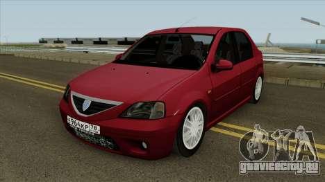 Dacia Logan 2007 для GTA San Andreas
