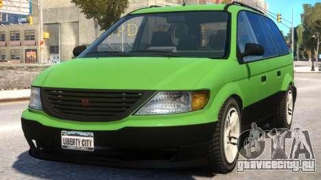 Minivan to Dodge Grand Caravan для GTA 4