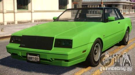 Faction to Buick Regal 80 для GTA 4
