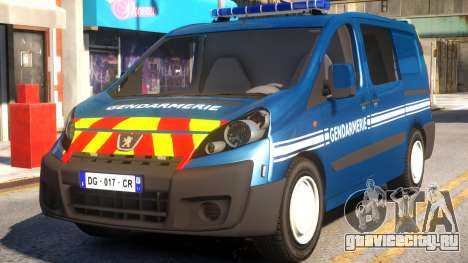 Peugeot Expert Gendarmerie 2017 для GTA 4