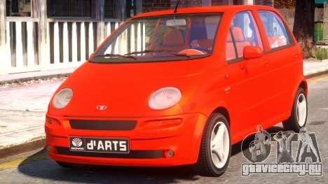 1997 Daewoo dArts Sport Concept для GTA 4