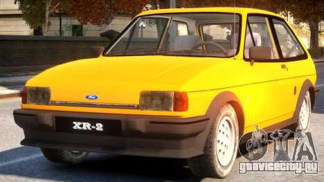 1984 Ford Fiesta XR2 для GTA 4