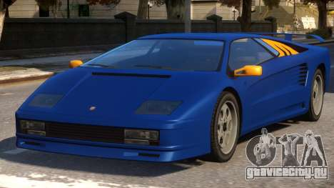 Pegassi Infernus VT 6.0 Lights для GTA 4