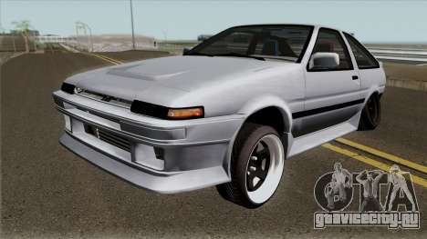 Toyota Sprinter Trueno AE86 Low для GTA San Andreas