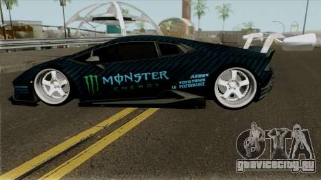 Lamborghini Huracan Perfomante Liberty Walk 2017 для GTA San Andreas