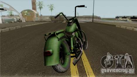Motorcycle Game Ride To Hell - Retribution для GTA San Andreas